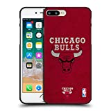 Head Case Designs Offizielle NBA Zerstört Chicago Bulls Soft Gel Hülle Schwarz für Apple iPhone 7 Plus/iPhone 8 Plus