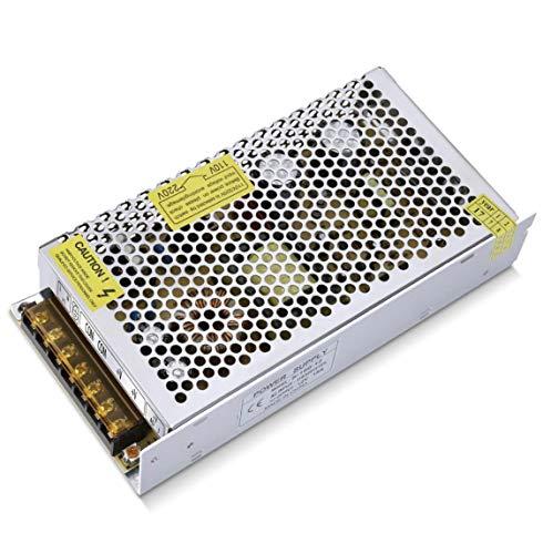 (LA) TRANSFORMADOR 12v, 200w, para tira led,motores eléctricos, uso PROFESIONAL de 16,5A a 12 V