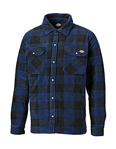 Dickies portland padded work shirt blue green red khaki royal s - 4xl sh5000-royal blue-m