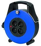 Brennenstuhl confort-line cl-xl Kabeltrommel H05VV-F 3G1,0, blau, 1102931