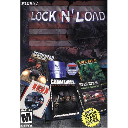 Lock N' Load: Project IGI/Commandos/Special Op II + More (PC)