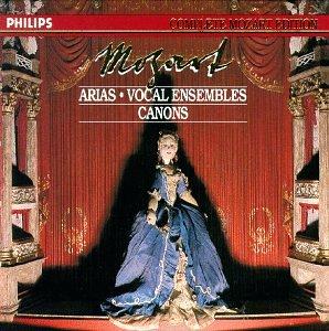 Mozart Wa-les Arias-les Ensembles Vocaux-les Canons-Vol23-