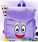 Gifts Backpack Rescue Bag With Map,pre-kindergarten Toys Purple Xmas Girls Back To School B
