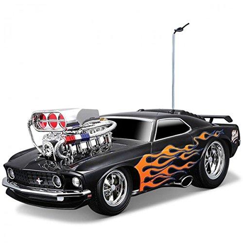 Maisto 1:18 RC 1969 Ford Mustang Boss 302 ferngesteuert Auto Rennauto Spielzeug