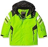 CMP Jungen Skijacke Jacke, Lime Green, 116