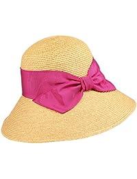 f0084e128958fd JIALUN-Hat Strohhut Frühling-Sommer Womens Hutkrempe breiter  Hauben-Eimerhut-Sonnenschutzvisier Mode