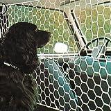 Tapalas 565 Hundegitter für das Auto, Einheitsgröße 115 x 65 cm, Weiß