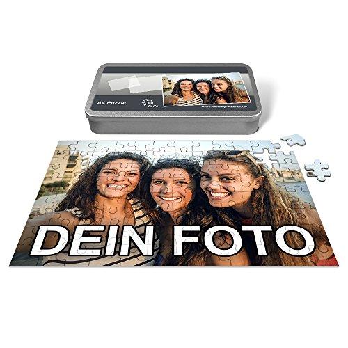PhotoFancy® - Puzzle mit eigenem Foto bedrucken lassen (96 Teile (A4)) - Foto Puzzle