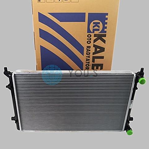 KALE Wasserkühler Motorkühlung Netzmaße: 650 x 410 x 26 mm - 1K0121251AP