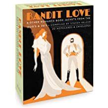 Bandit Love, A Postcard Book: Romance Book Jackets from the 1920's and 30's
