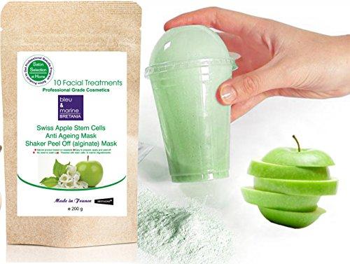 Masque Regenerant aux Cellules Souche de Pomme - peel off 200 g / 10 traitements + Shaker
