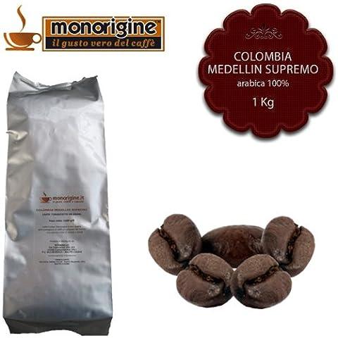Caffè in Grani Colombia Medellin Supremo 1Kg - Caffè Monorigine Arabica 100%