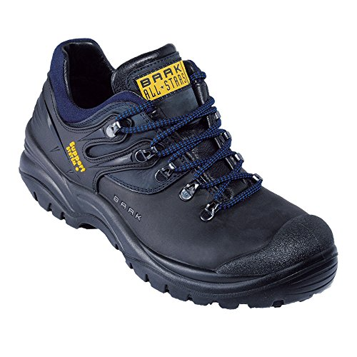 Scarpe Di Sicurezza Baak Bill S3 Hro Construction Safety Low Shoes, Blu, 45-006352-45