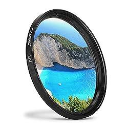 Cellonic UV Filter kompatibel mit Nikon AF-S 24-85mm Nikkor 16-85mm 18-105mm 18-70mm 18-135mm 18-140mm (Ø 67mm) Schutzfilter