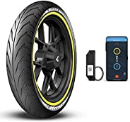 JK Tyre Smart BLAZE BF33 80/100-17 Tubeless Bike Tyre, Front