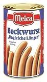 Meica Bockwurst ungleiche Längen, 2er Pack (2 x 3 kg Dose)
