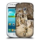 Head Case Designs Erdmännchen Gruppe In Alarm Tierwelt Snap-on Schutzhülle Back Case für Samsung Galaxy S3 III mini I8190