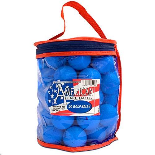 Second Chance Golf d'occasion Americal Lake avec un sac de rangement - Lot de 50