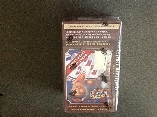 2008 2009 Upper Deck Legends Masterpieces Hockey Box