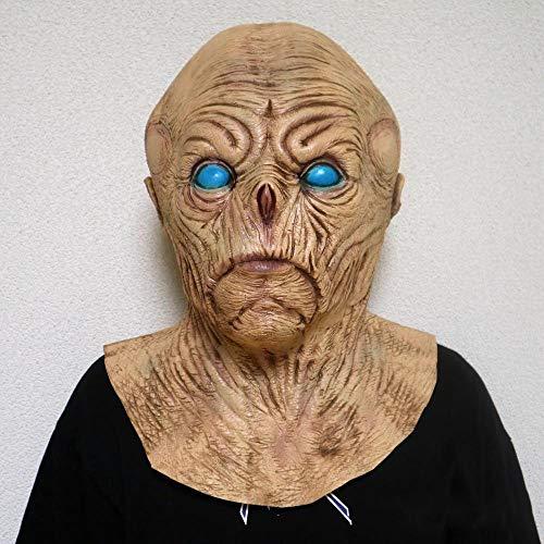Circlefly Halloween Maske Zombie Latex Maske Horror Grimasse Glatze ()