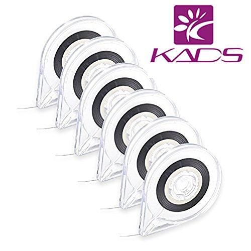 Kads 10 pcs/lot Nail Art Striping Tape Line Coque Outil Autocollant Box support pour vernis à ongles Outil
