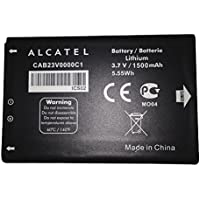 MOSTOP® 3.7V 1500mAh Replacement Battery Pack Compatible with Alcatel CAB23V0000C1, Y800, Y580D