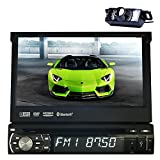 7 Inch Universal Digital HD Digital Touchscreen 1 Single Din Car Stereo Radio