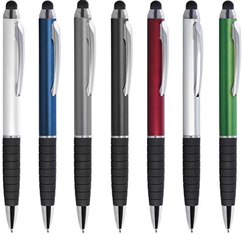 Penne personalizzabili personalizzate con nome logo o slogan gadget promozionali - advance pd092 - 100 pezzi stampa 1 colore