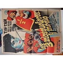 Original Mexican Poster Los Tres Mosqueteros Y Medio German Valdes Tin Tan
