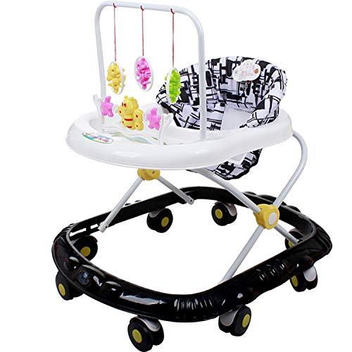 YXXHM- Universal Baby Walker Foot Anti-Pasto Rollover Running Sports Car Passeggino New Walk Pieghevole Coordinazione Occhio-Mano 66 * 41 * 58CM