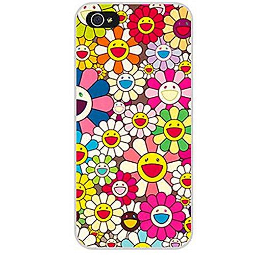 Inonler Sommer blumen optimistische sonnenblumen glückliches Mädchen. hülle für iphone 5S,für iphone SE,Mehrfarbig Hülle