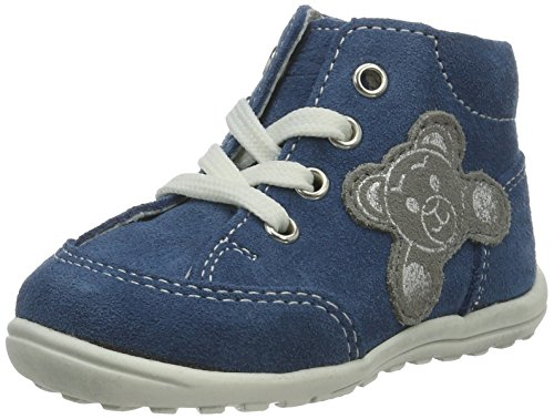 Richter Kinderschuhe Mini Baby Mädchen Sneaker Blau (pacific/rock)