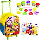 16 TLG. Set: Kinder Trolley & Kinderknete - Teletubbies -