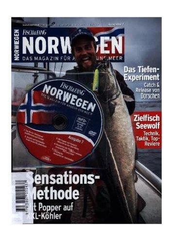FISCH & FANG Sonderheft Nr. 36: Norwegen Magazin Nr. 6 + DVD: Das Magazin für Angeln und Meer