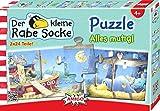 """Amigo 04624 - """"Rabe Socke"""" Jigsaw Puzzle, 2 x 24 Pieces"""