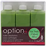 Best GiGi depilatory - Hive Options Tea Tree Cream Wax Roller Depilatory Review