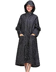 LaoZan Femmes Vêtements Veste Imperméable Raincoats Avec Capuche Manteau Imperméable Veste De Pluie De Plein Air