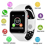 SLSH Smart Uhren, Touchscreen Bluetooth Smartwatch mit Kamera entsperrt Smart Watch mit SIM TF Card Slot Smart Armbanduhr Kompatibel Android Handys Samsung LG iOS iPhone für Männer Frauen Kinder