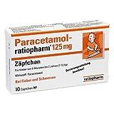 Paracetamol-ratiopharm 125mg 10 stk