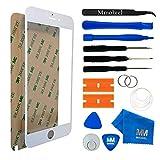 MMOBIEL Front Glas für iPhone 6 Plus / 6S Plus Series (Weiß) mit 11 TLG. Werkzeug-Set