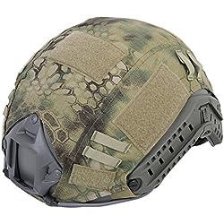Militar táctica serie Airsoft combate Ops-Core rápido Ballistic casco cubierta del Ejército Caza Paintball Shooting Gear, MR