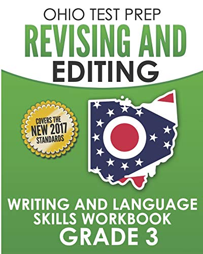 OHIO TEST PREP Revising and Editing Grade 3: Writing and Language Skills Workbook - Test Prep Ohio