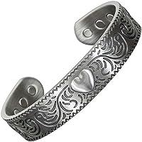 Fabulous Silber straffen Damen Magnet Armband Kupfer Ganzheitliche Therapie, Arthritis Gesundheit Armreif magnetisch... preisvergleich bei billige-tabletten.eu