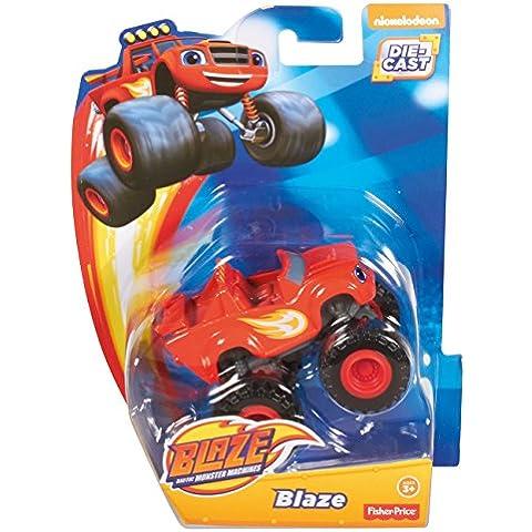 Blaze y los Monster Machines - Vehículo Blaze, color rojo (Mattel CGF21)