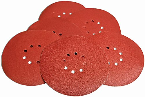 evolution-powertools-078-0090-225mm-80-grit-red-dry-wall-sanding-discs-6-pack-new