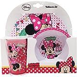 Disney 3-Piece Disney Minnie's Day Out Melamine Set