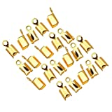 Phenovo 200 pcs DIY Chain End Caps Crimp...