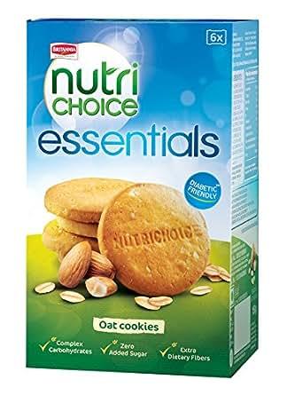 Britannia Nutri Choice Essential Cookies - Oat, 150g Pack