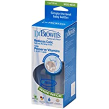 Dr. Browns DRB-PP-455DE - Biberón anticólico (120 ml, sin BPA)