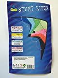 New 1.2M Wingspan Easy To Fly 2 Line Stunt Kite, Great Beginners Kit, Christmas